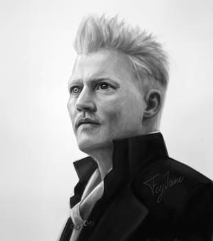 Grindevald Portrait by Feyjane
