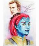 Mystique and Magneto