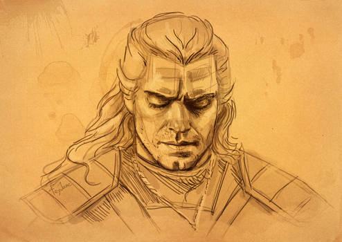 Geralt sketch