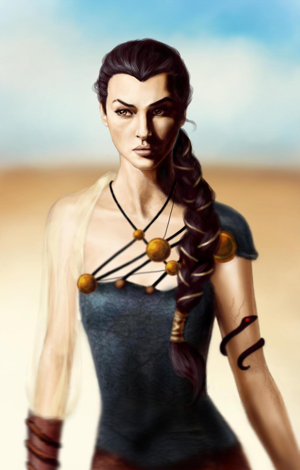 Nymeria Sand by hardcoremiike