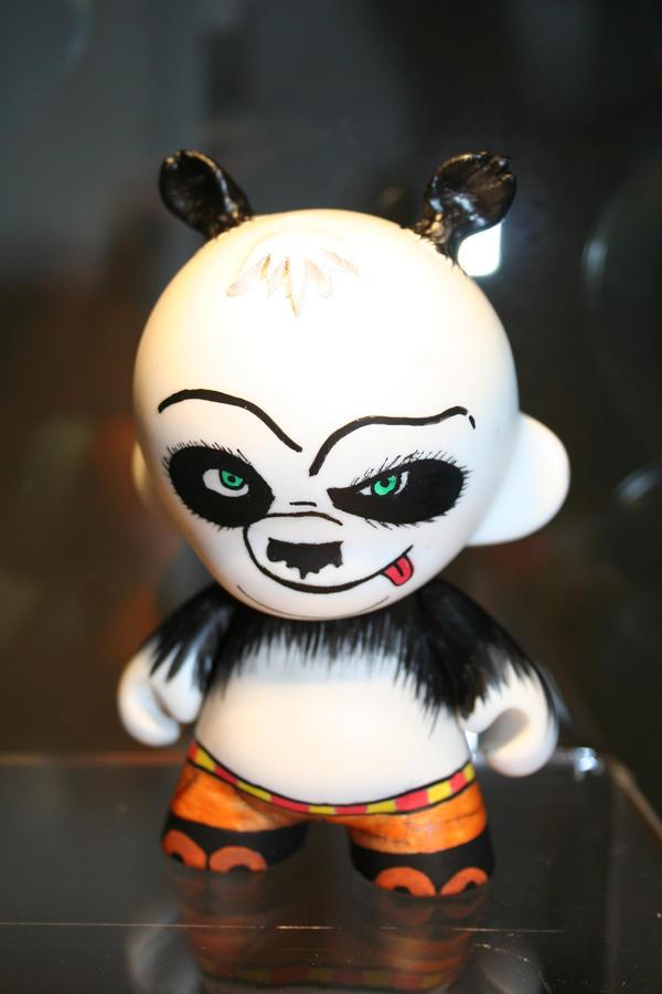 Kungfu Panda Munny by shuijingfantasy