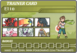 My Pokemon Sun trainer card by Shiron-the-Windragon