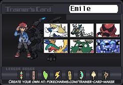 Chuggaconroy's Pokemon White trainer card by Shiron-the-Windragon