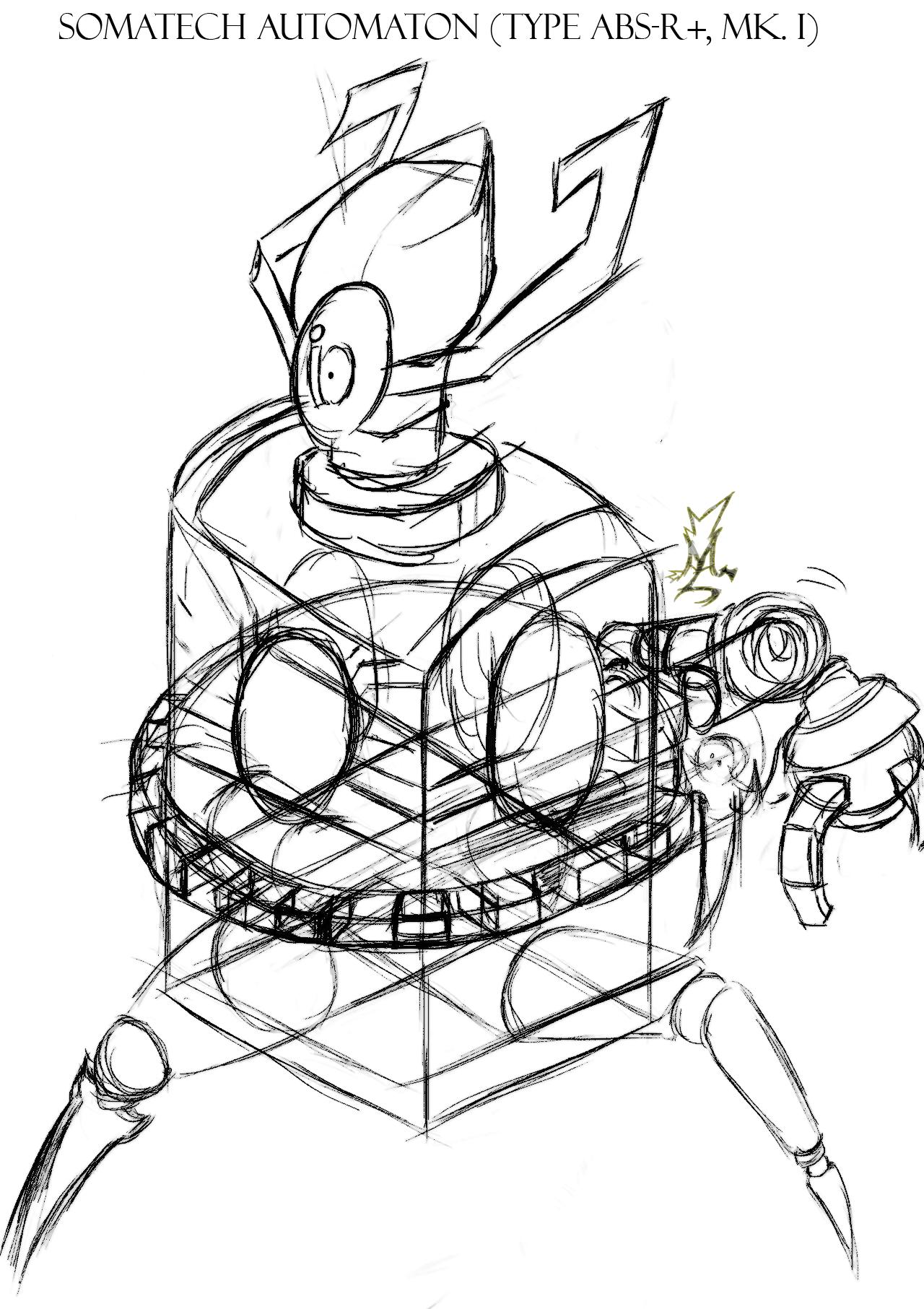 Magichaos Campus - The Somautomaton (Sketch)
