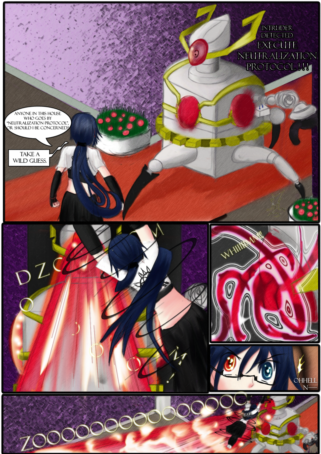 Magichaos Campus - Chapter 1 Page5