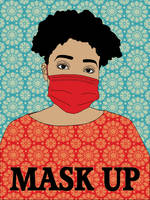 Mask Up by LisaVollrath