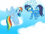 Rainbow dash x Soarin