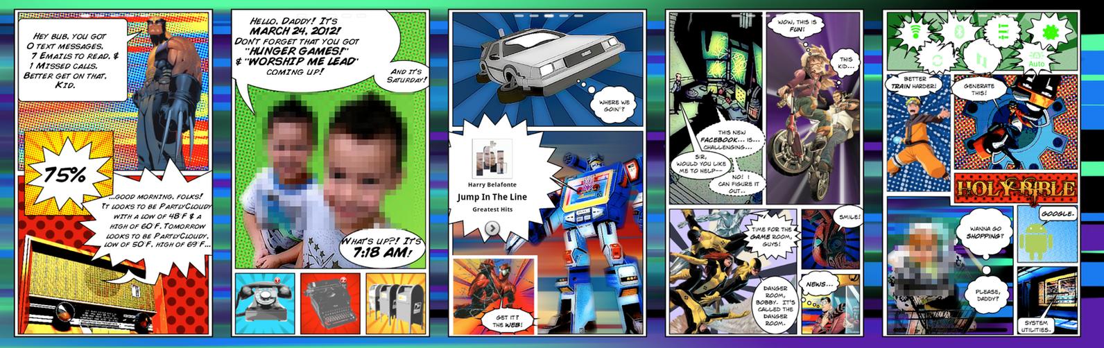 comic theme funkpod style by funkpod on deviantart