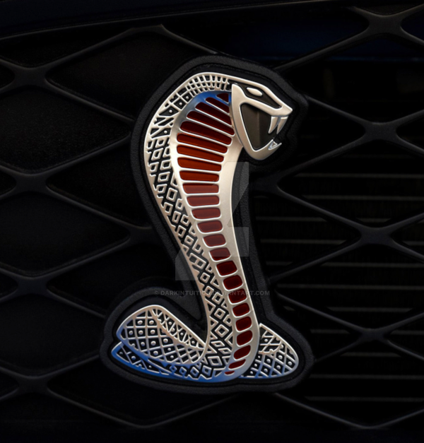 Shelby Cobra Emblem Red By Darkintuition On Deviantart