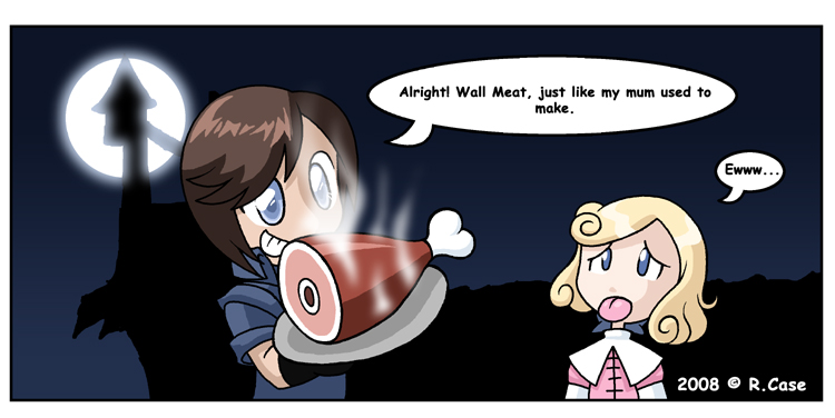 Wall Meat Comic by rongs1234