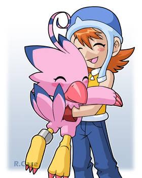 Sora and Byomon