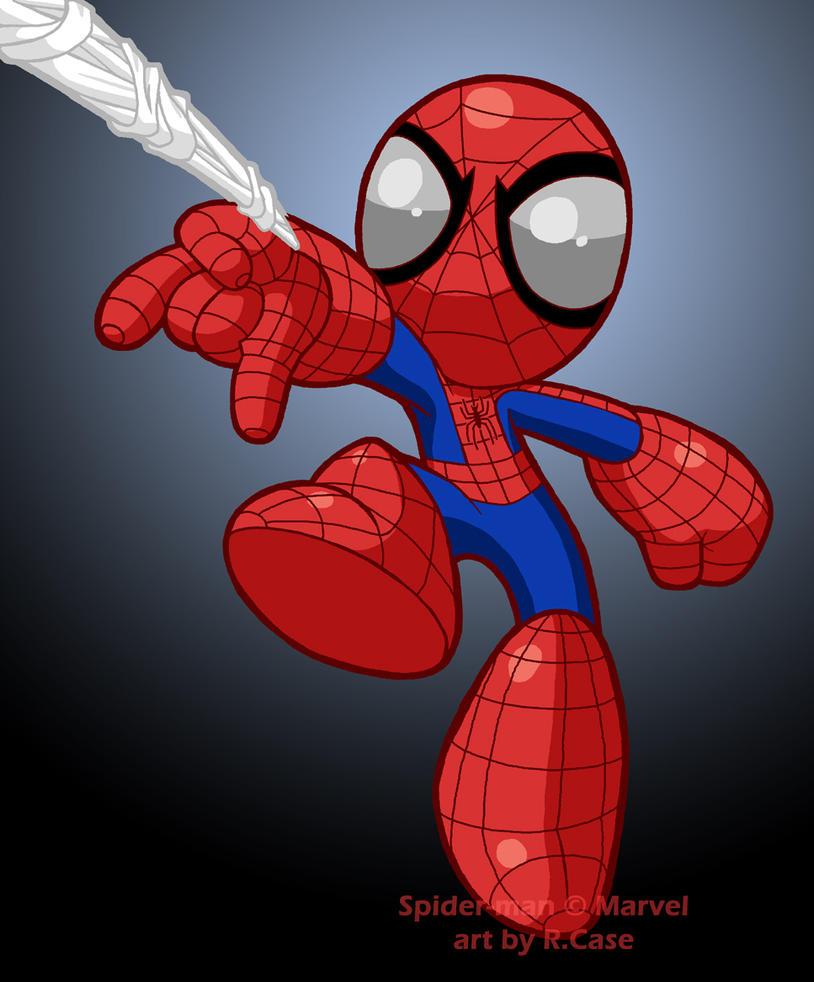 Spider Man Powered Upbyrongs