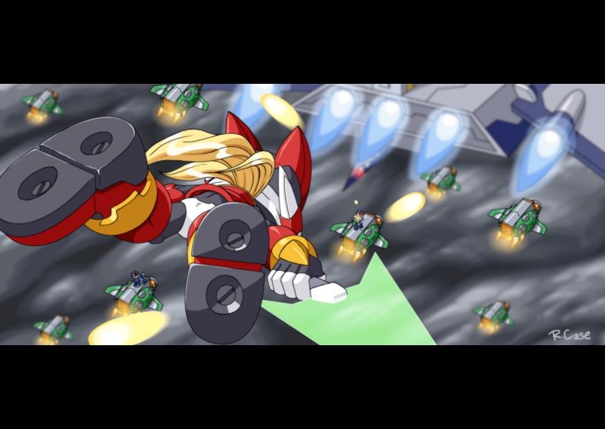 Mega Man Zero 2 -Power Bom- by rongs1234