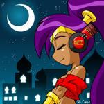 Shantae headphones pic