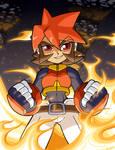 Mega Man Tribute Atlas by rongs1234