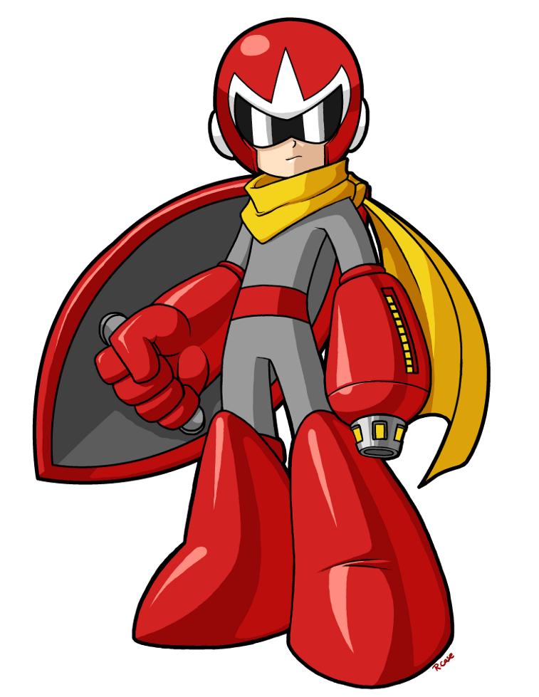 How To Draw Megaman protoman