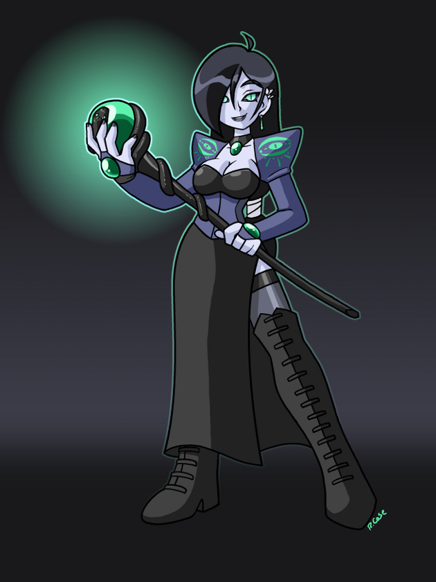 Dark Sorceress 1 by rongs1234