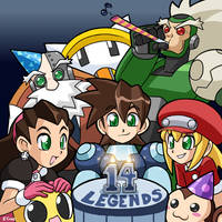 14 years of Legends by rongs1234