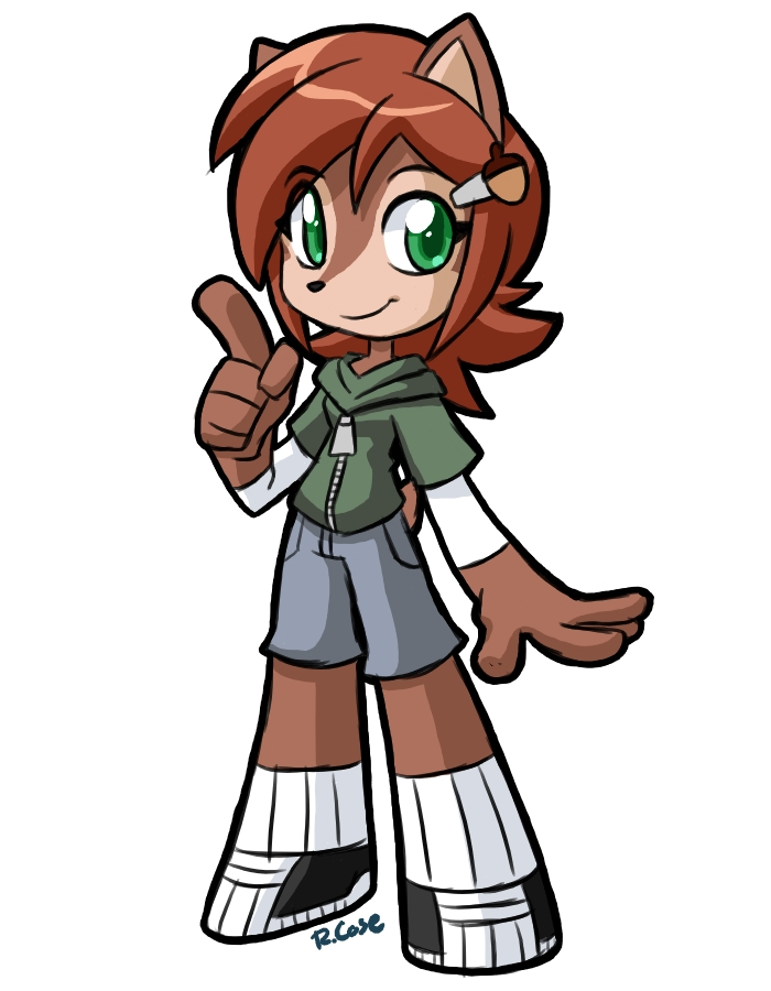 Chipmunk Girl by rongs1234