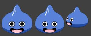 3D Dragon Quest Slime