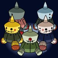 Zakobon and friends