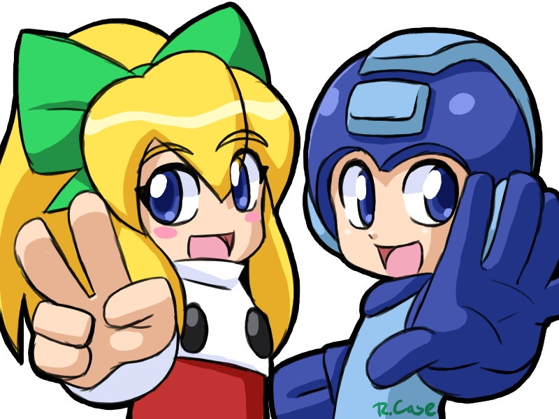Megaman the big Two Five by rongs1234