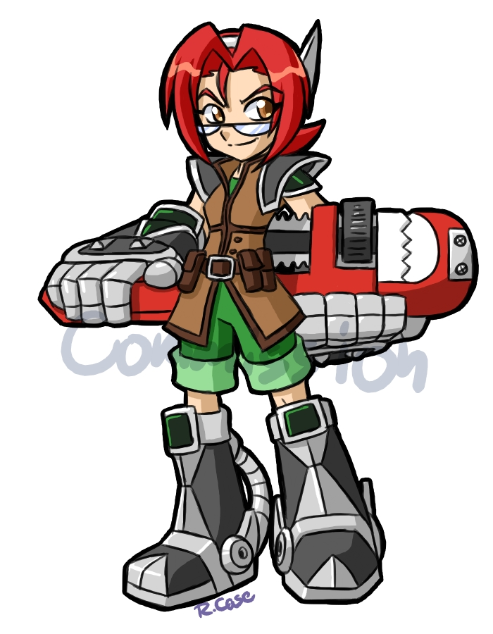 GearGirl for NewEraOutlaw by rongs1234