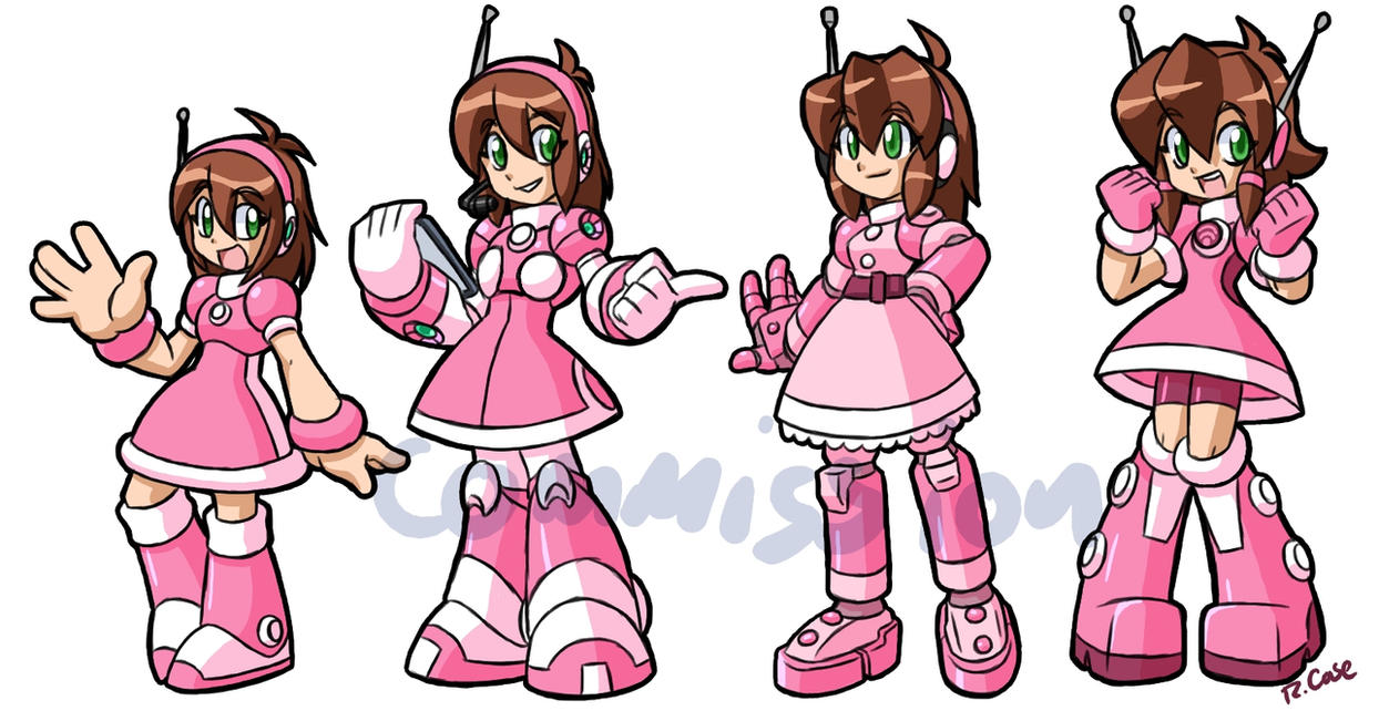 MegaMan Generations fan character commission by rongs1234