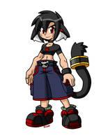 Lara Skullgirls style by rongs1234