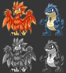 Mega Phoenix and Rezadora
