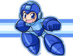 MegaMan ready to smash some bros