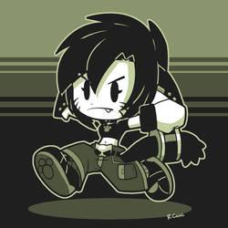 GameBoy Lara by rongs1234