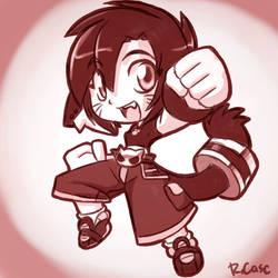 Chibi Red Lara doodle by rongs1234