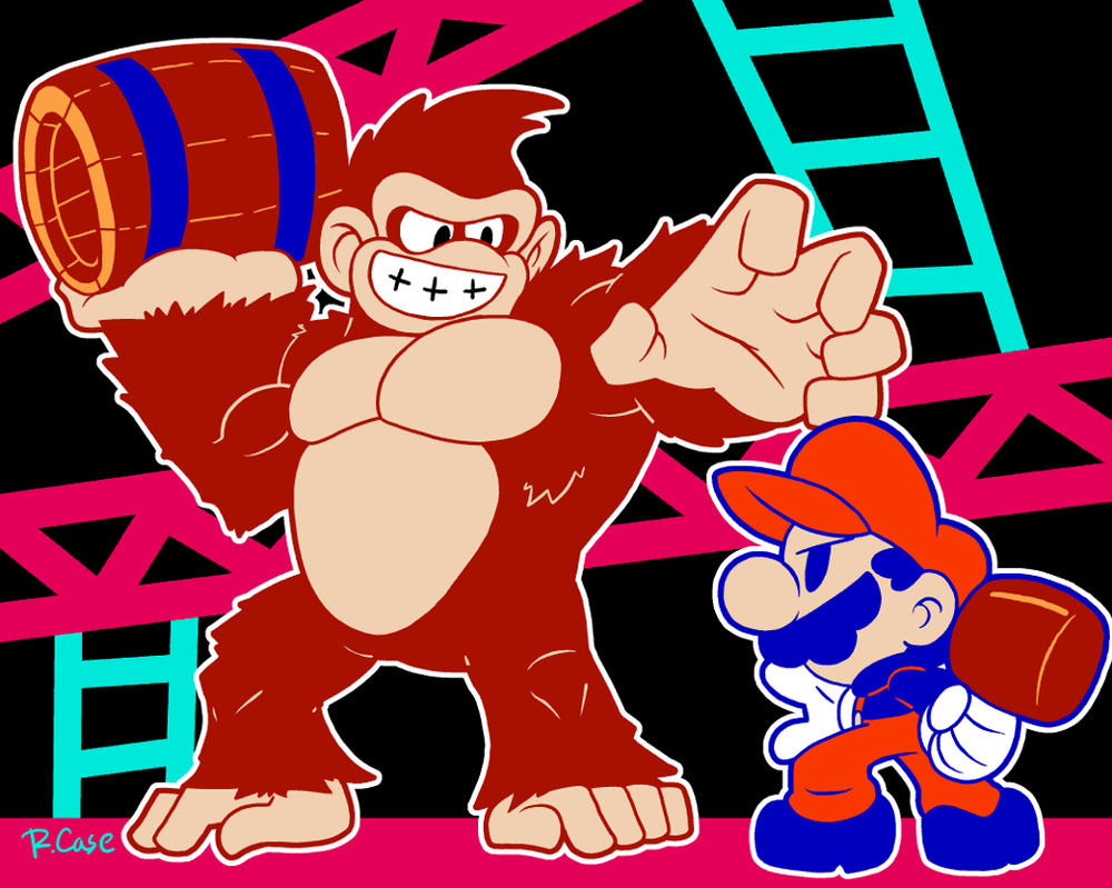 Donkey Kong Classic by rongs1234