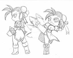 ChunLi doodle part 2
