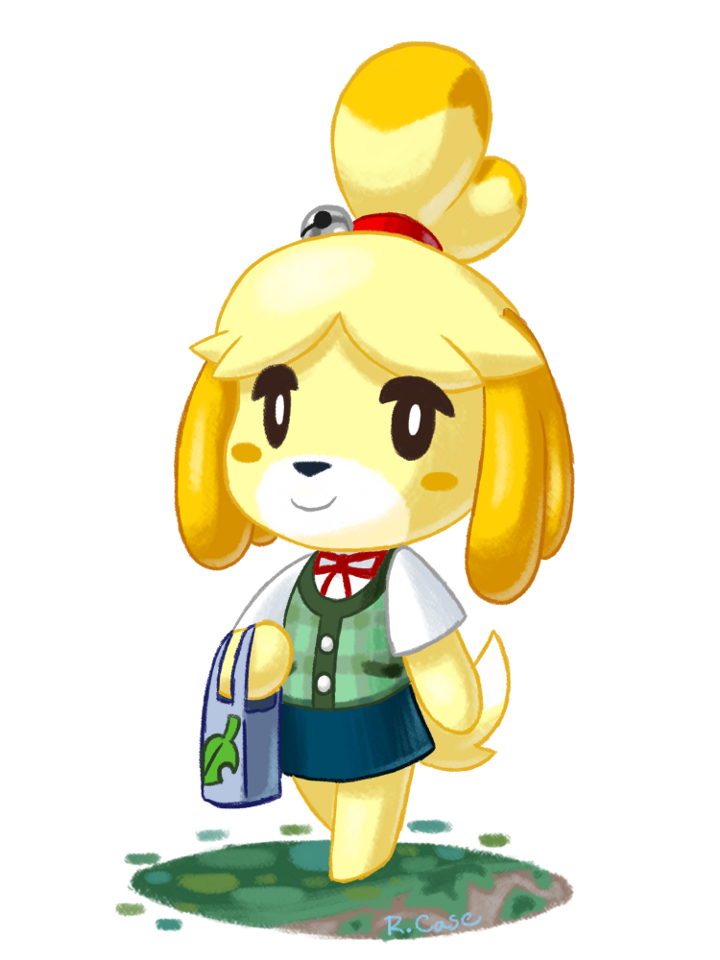 Isabelle by rongs1234 on DeviantArt