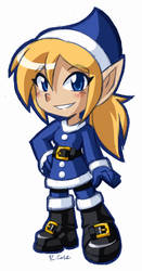 Holly the Xmas Elf