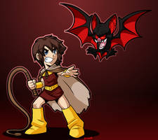Castlevania Jr by rongs1234