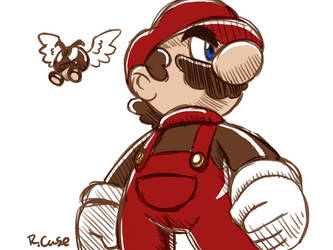Mario maker doodle thing by rongs1234