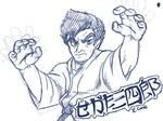Segata Sanshiro doodle