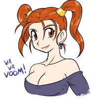 Jessica Albert bust by rongs1234