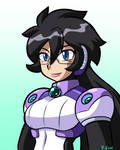 Reploid Miss Violet bust