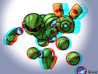 Vectorman 3d version by rongs1234