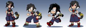 Lara different styles