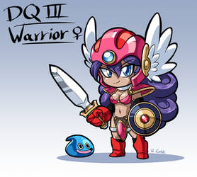 Dragon Quest Warrior by rongs1234