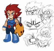 If I redesigned Lion O