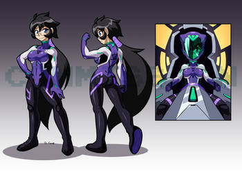 Violet PlugSuit for yomang86 by rongs1234