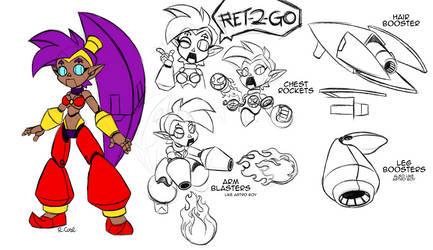 Robo Shantae by rongs1234