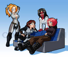 Relaxing ladies for Rbl-m1a2tanker