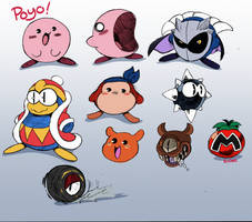 Kirby stuff by rongs1234